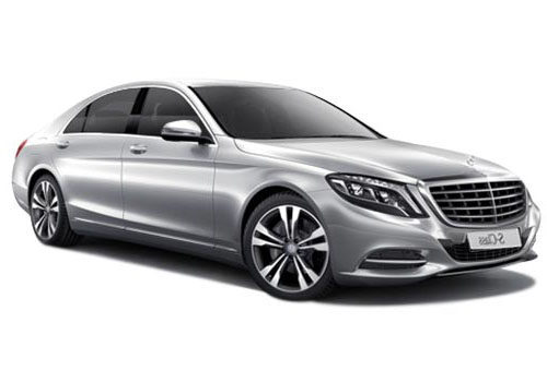 Mercedes Benz S Class Front View Side Picture