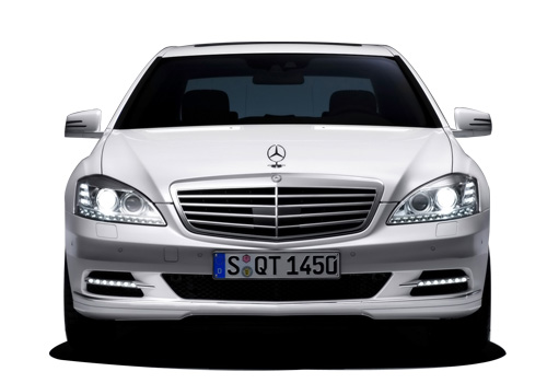 Mercedes Benz S Class Front View Picture