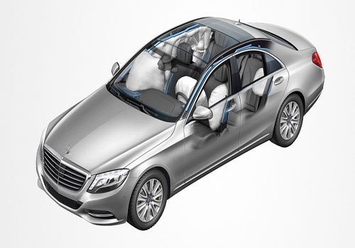 Mercedes Benz S Class Airbag Exterior Picture