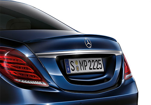 Mercedes Benz S Class Tail Light Exterior Picture