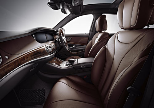 Mercedes Benz S Class Front Seats Interior Picture