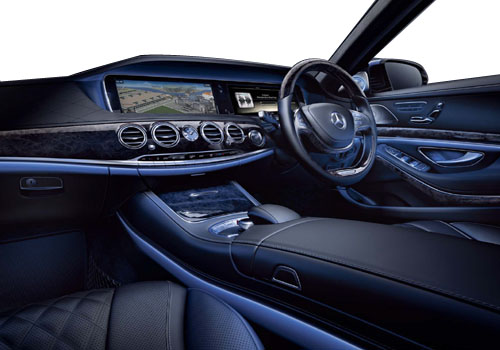 Mercedes Benz S Class Dashboard Interior Picture