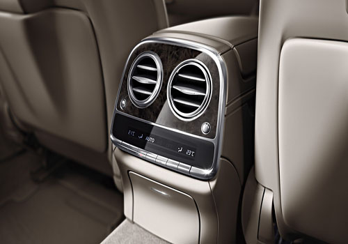 Mercedes Benz S Class Rear AC Control Interior Picture