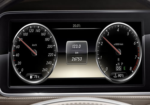 Mercedes Benz S Class Tachometer Interior Picture