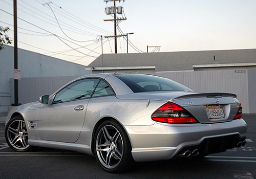 Mercedes Benz SL Class Cross Side View Exterior Picture