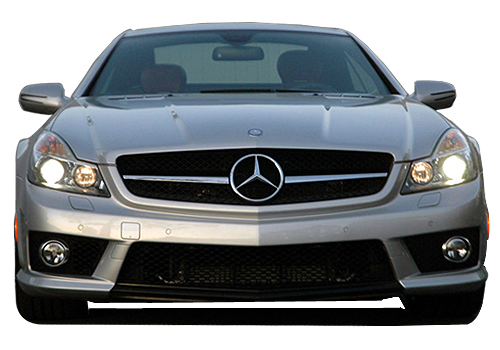 Mercedes Benz SL Class Front View Exterior Picture