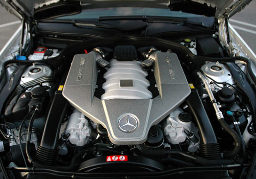Mercedes Benz SL Class Engine Interior Picture