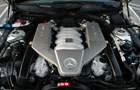 Mercedes Benz SL Class Engine Picture