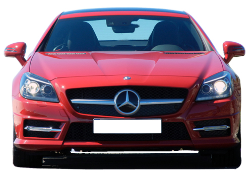 Mercedes Benz SLK Class Front View Picture