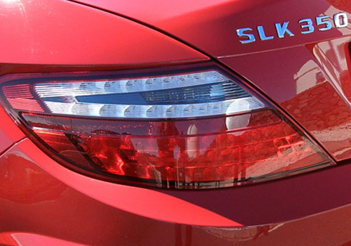Mercedes Benz SLK Class Tail Light Exterior Picture