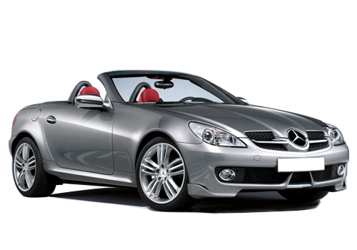 Mercedes Benz SLK Class Front Low Angle View Exterior Picture