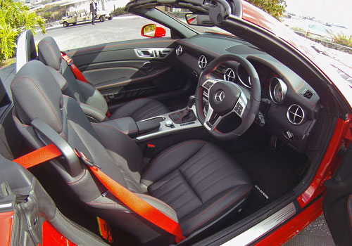 Mercedes Benz SLK Class Front Seats Interior Picture