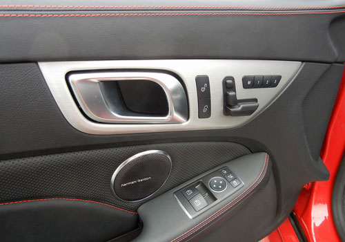 Mercedes Benz SLK Class Driver Side Door Control Interior Picture