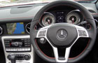 Mercedes Benz SLK Class Steering Wheel Picture