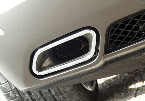 Mercedes Benz SLS Class Exhaust Pipe Exterior Picture