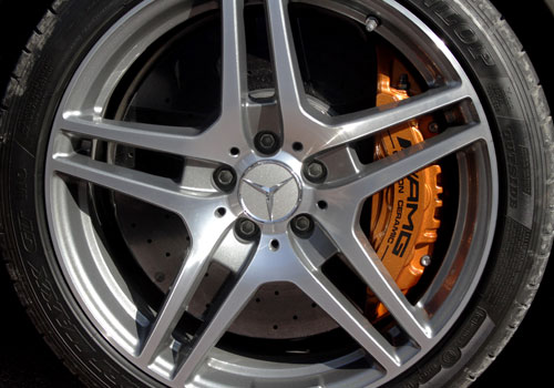 Mercedes Benz SLS Class Wheel and Tyre Exterior Picture