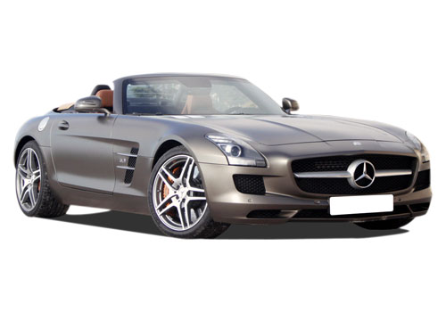 Mercedes Benz SLS Class Front Low Angle View Exterior Picture