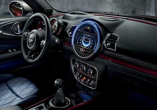 Mini Clubman Central Control Interior Picture