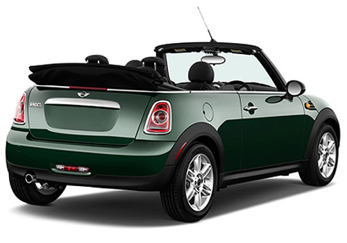 Mini Cooper Convertible Cross Side View Exterior Picture
