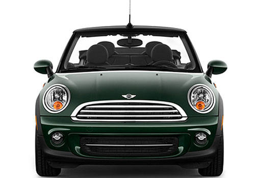 Mini Cooper Convertible Front View Exterior Picture
