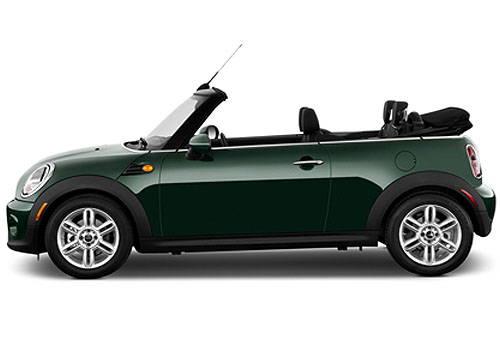 Mini Cooper Convertible Side Medium View Exterior Picture