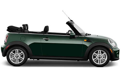 Mini Cooper Convertible Front Angle Side View Exterior Picture