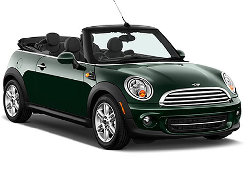 Mini Cooper Convertible Front Low Angle View Exterior Picture