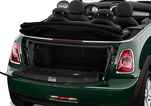 Mini Cooper Convertible Front Seats Interior Picture