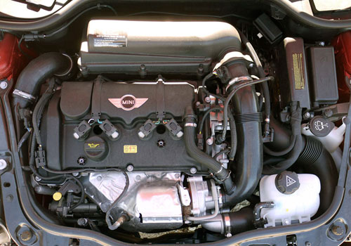 Mini Cooper Countryman Engine Interior Picture