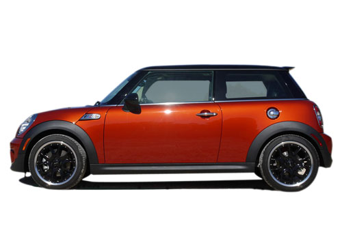 Mini Cooper Front Angle Side View Exterior Picture
