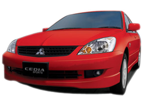 Mitsubishi Cedia Front Angle View Exterior Picture