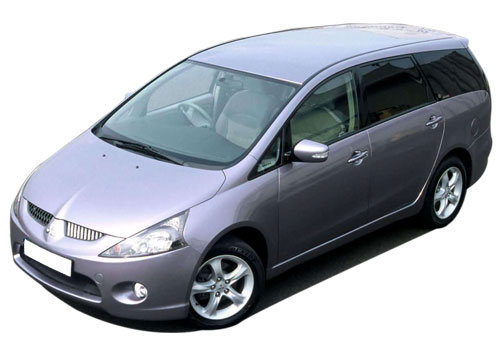 Mitsubishi Grandis Front Angle View Exterior Picture
