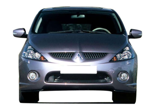 Mitsubishi Grandis Front View Exterior Picture