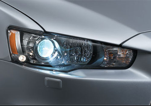 Mitsubishi Lancer Evolution Headlight Exterior Picture