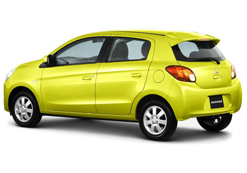 Mitsubishi Mirage Cross Side View Exterior Picture