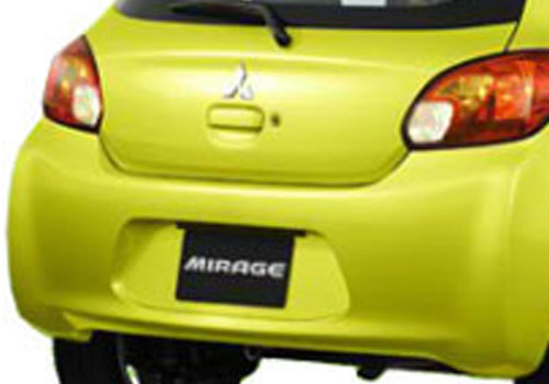 Mitsubishi Mirage Exhaust Pipe Exterior Picture