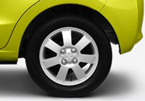 Mitsubishi Mirage Wheel and Tyre Exterior Picture