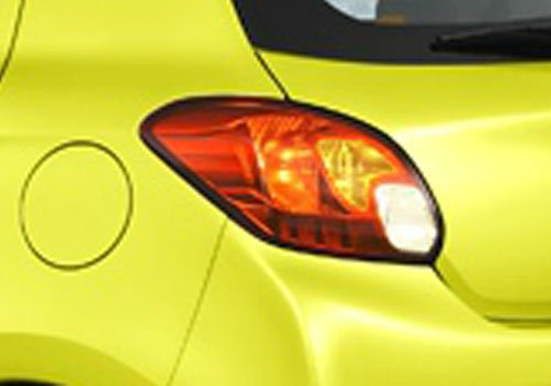 Mitsubishi Mirage Tail Light Exterior Picture