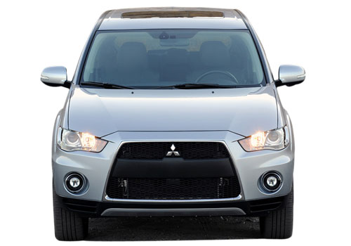 Mitsubishi Outlander Front View Exterior Picture