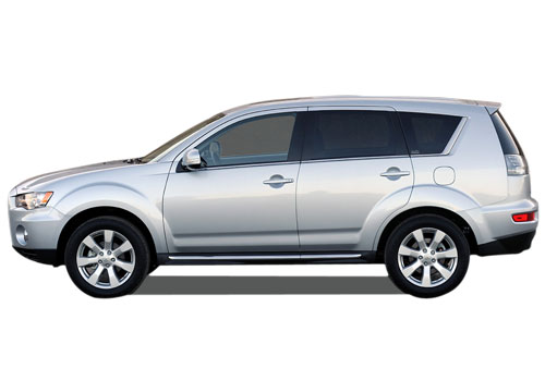 Mitsubishi Outlander Front Angle Side View Exterior Picture