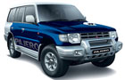 Mitsubishi Pajero in Blue Color