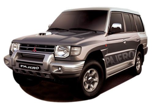 Mitsubishi Pajero Front Angle View Exterior Picture