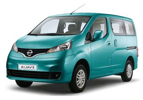 Nissan Evalia Front View Side Picture