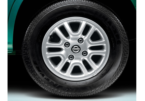 Nissan Evalia Wheel and Tyre Exterior Picture