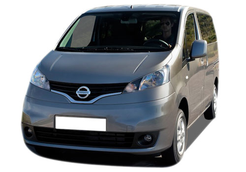 Nissan Evalia Front High Angle View Exterior Picture