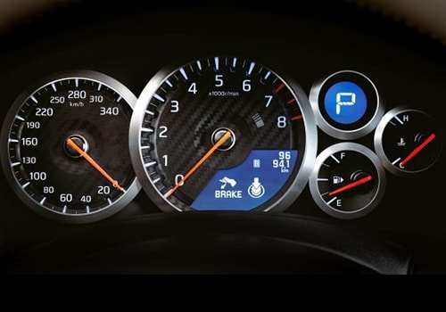 Nissan GT-R Tachometer Interior Picture
