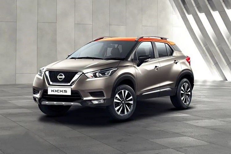 Nissan Kicks Front Angle Low Wide Exterior Picture