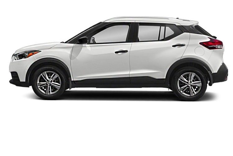 Nissan Kicks Front Angle Side View Exterior Picture