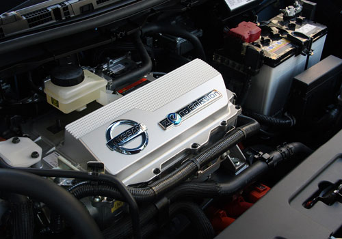 Nissan Leaf Engine Interior Picture