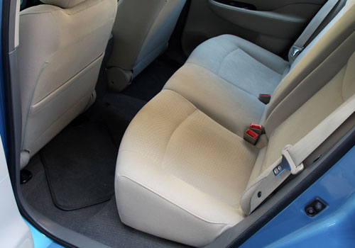 Nissan Leaf Rear Seats Interior Picture